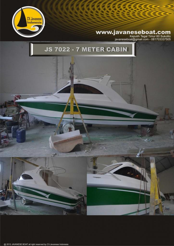JS 7022 javaneseboat